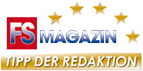 'Tipp der Redaktion' from the German magazine FS Magazin