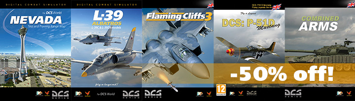 Cover Mix for Sale 720 - DCS Newsletter - soldes et  update - dcs-world