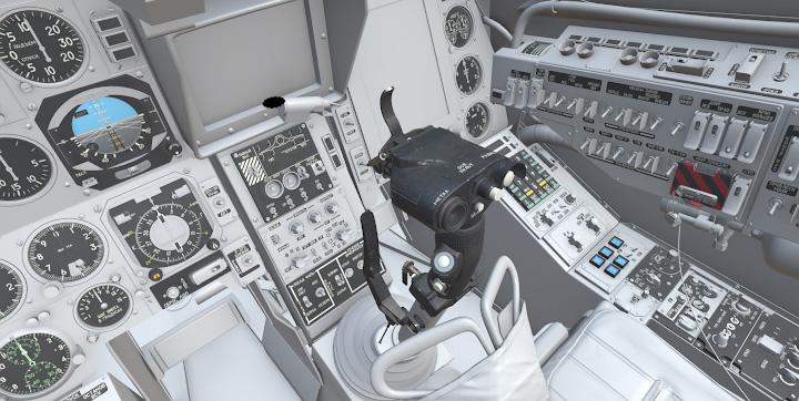 WIP Ka-50 Cockpit