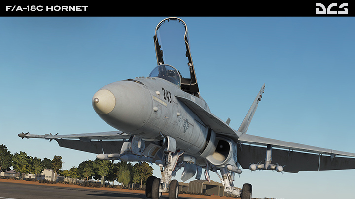 """F/A-18C """"大黄蜂"""""""