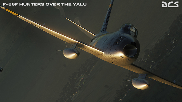 F-86F Hunters Over the Yalu