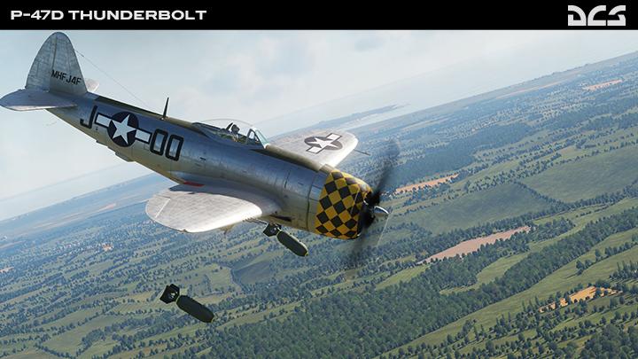 """P-47D""""雷电"""""""