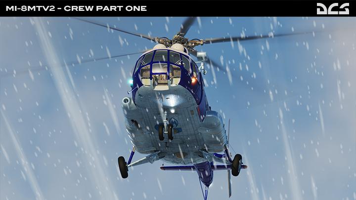 Mi-8MTV2 Crew Part 1