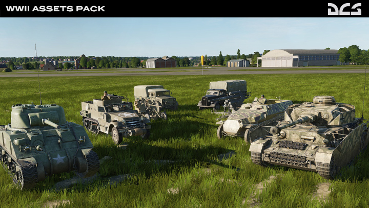 WWII Assets Pack