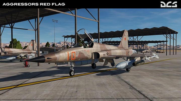 F-5E Tiger II Aggressors Red Flag - 10