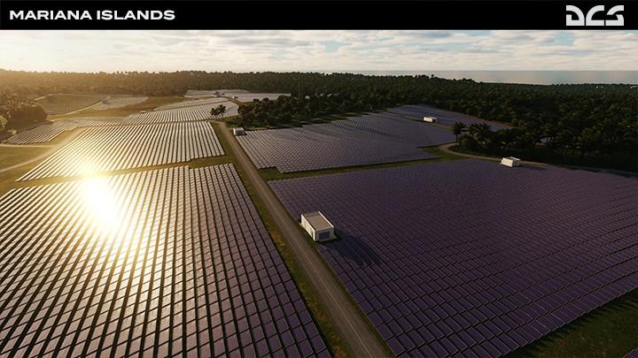 Mariana Islands - Dandan solar facility
