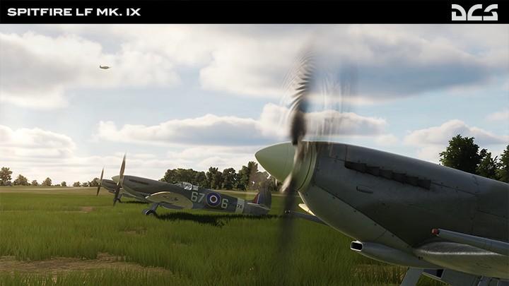 Spitfire Lf Mk. IX