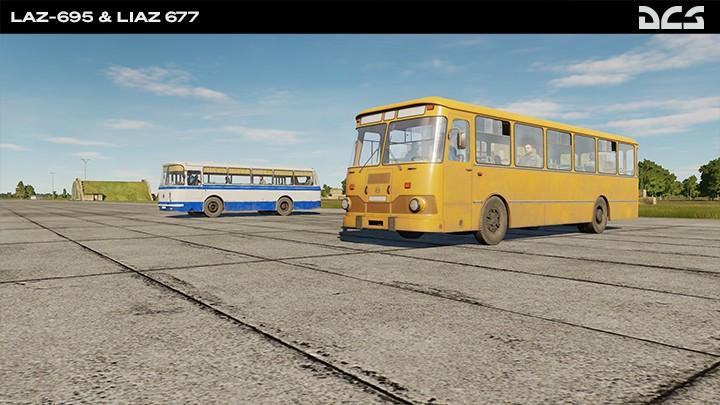 LAZ-695 & Liaz 677