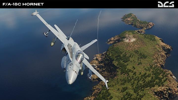 Mariana Islands - Farallon de Medinilla - F/A-18C Hornet AGM-84