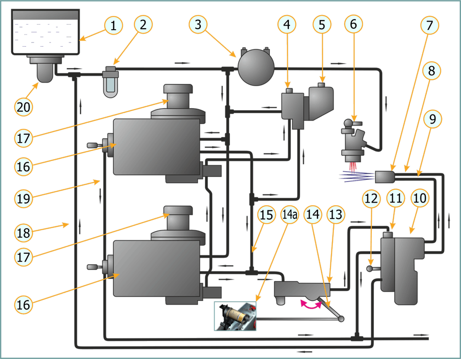 Engine fuel control system