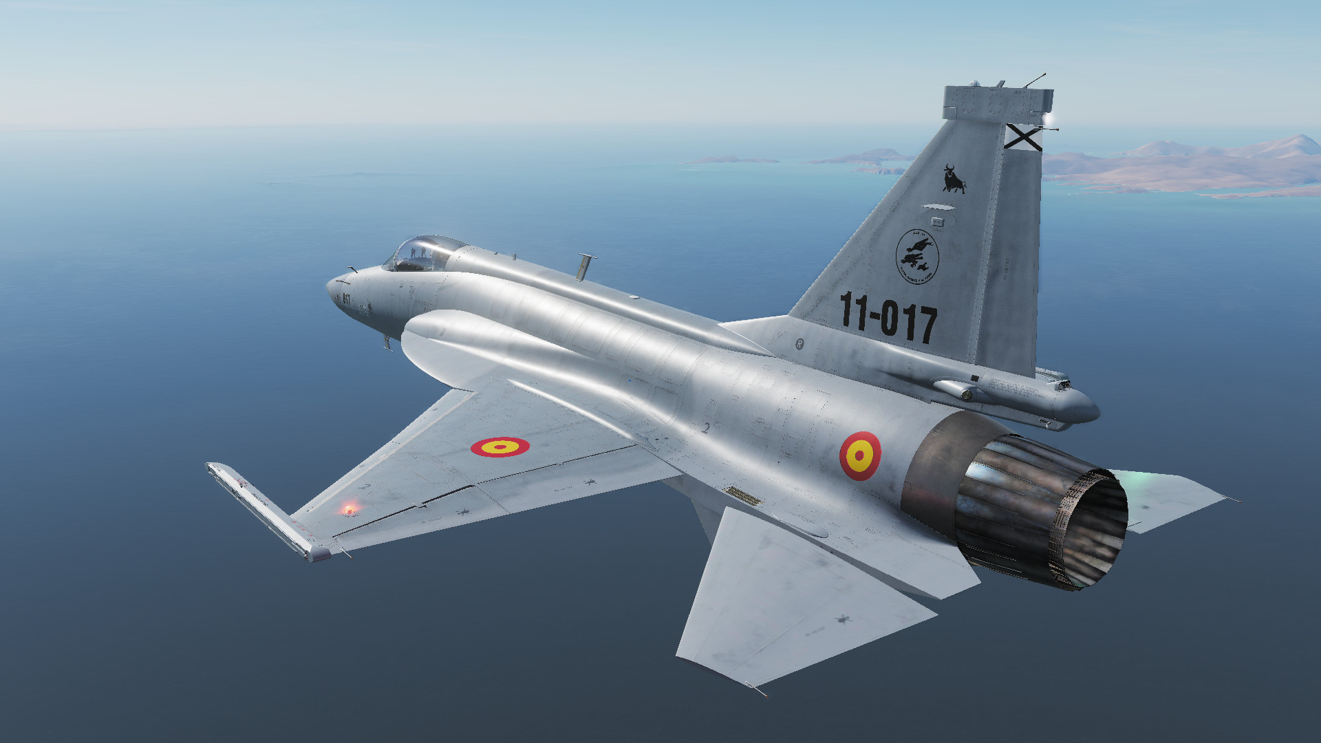 Fictional Spanish AF Ala 11 JF-17 Thunder