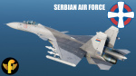 Su-33 Serbian Air Force