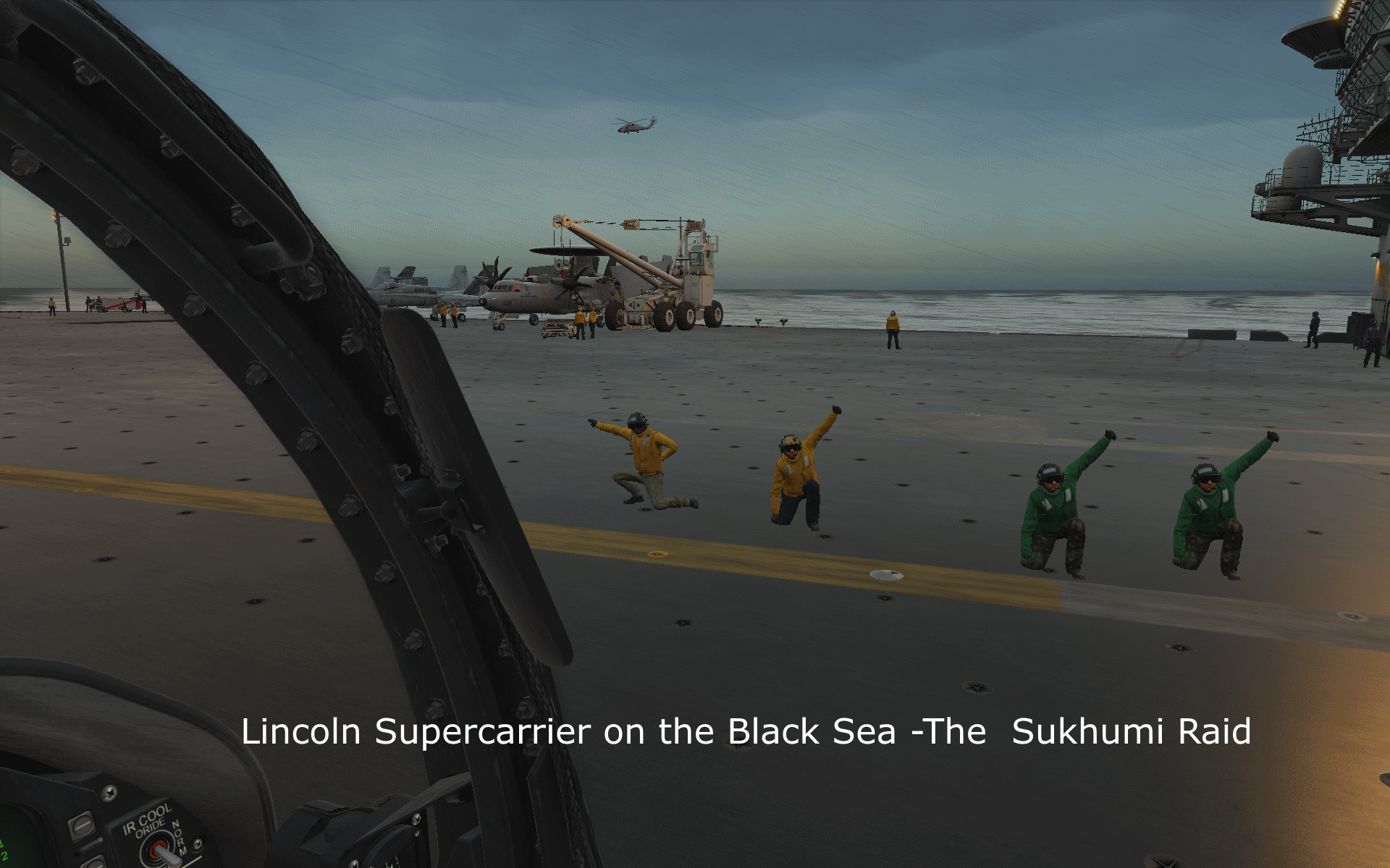 Lincoln Supercarrier on the Black Sea -The  Sukhumi Raid version 1