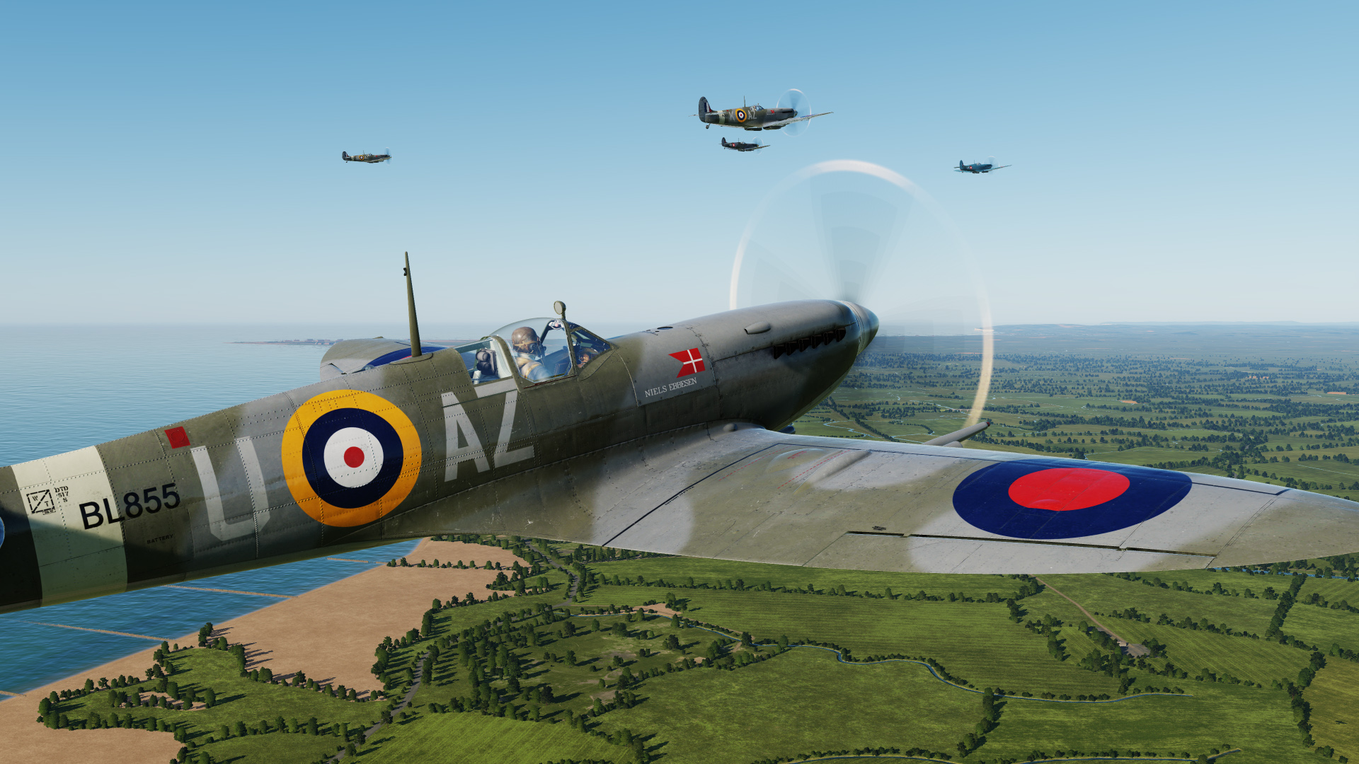 Danish Spitfires At War Package