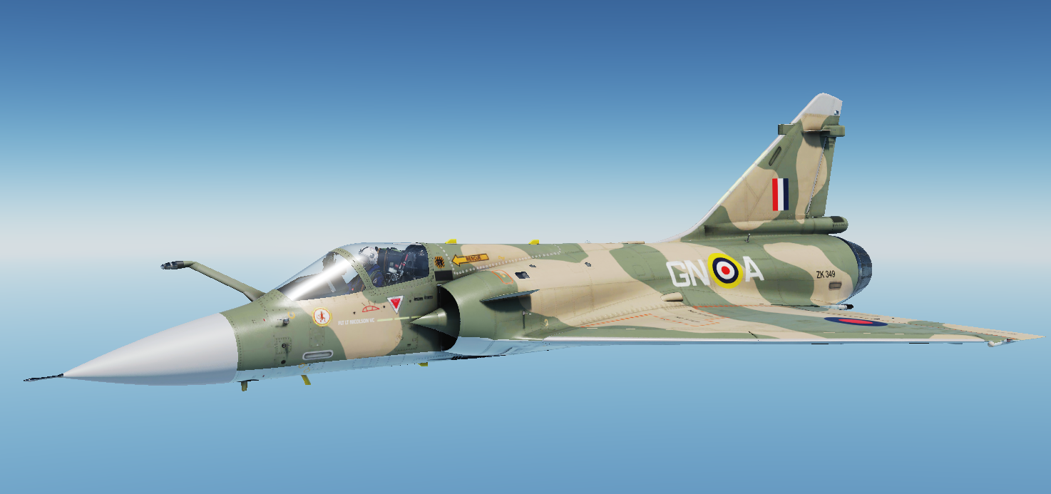 M-2000C RAF Battle of Britain Livery