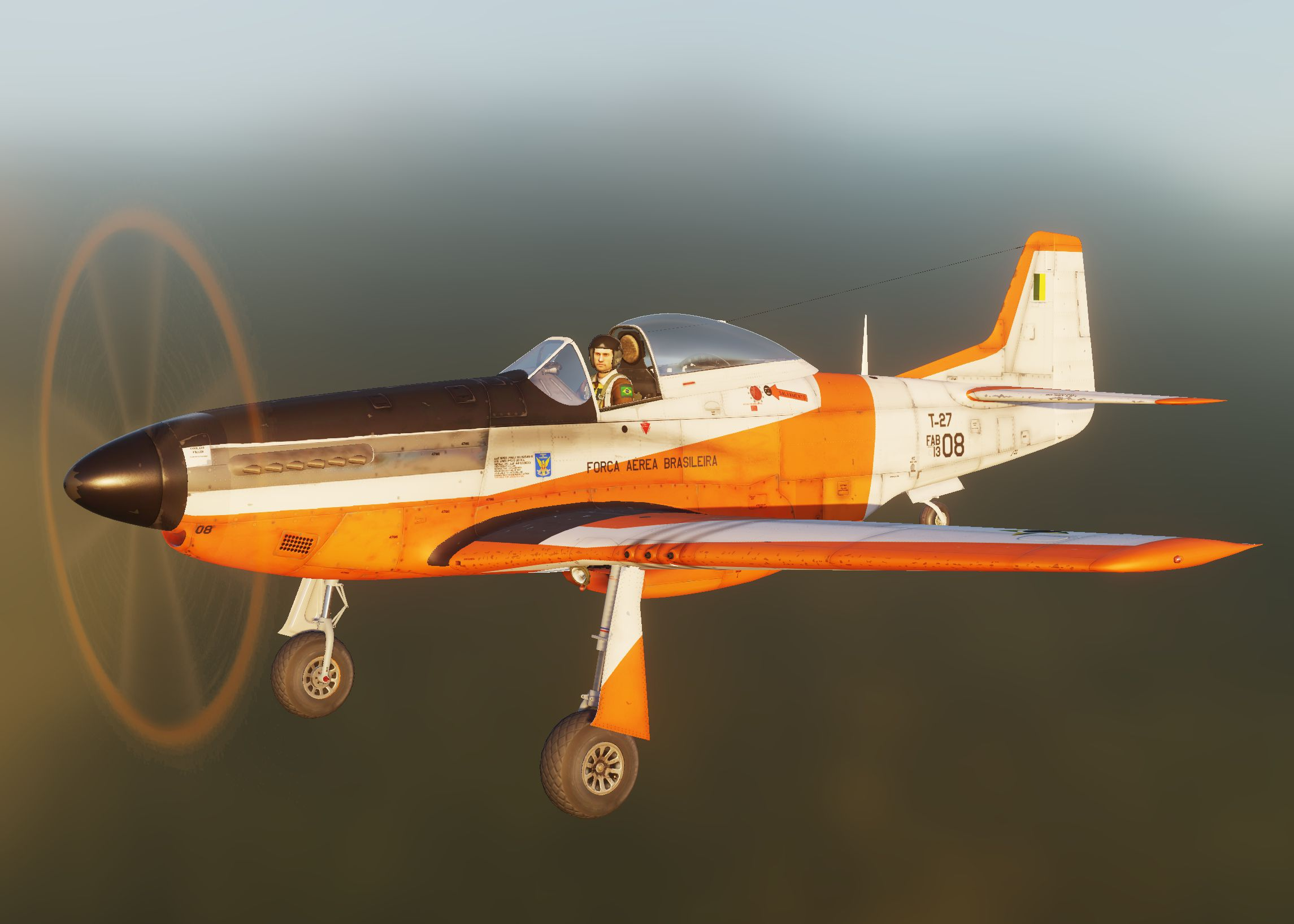 T-27 Tucano Brazilian Air Force Academy (sn 1308).