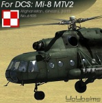 Mi-8MTV2 Polish textures of No.6103, Afghanisan 1.0