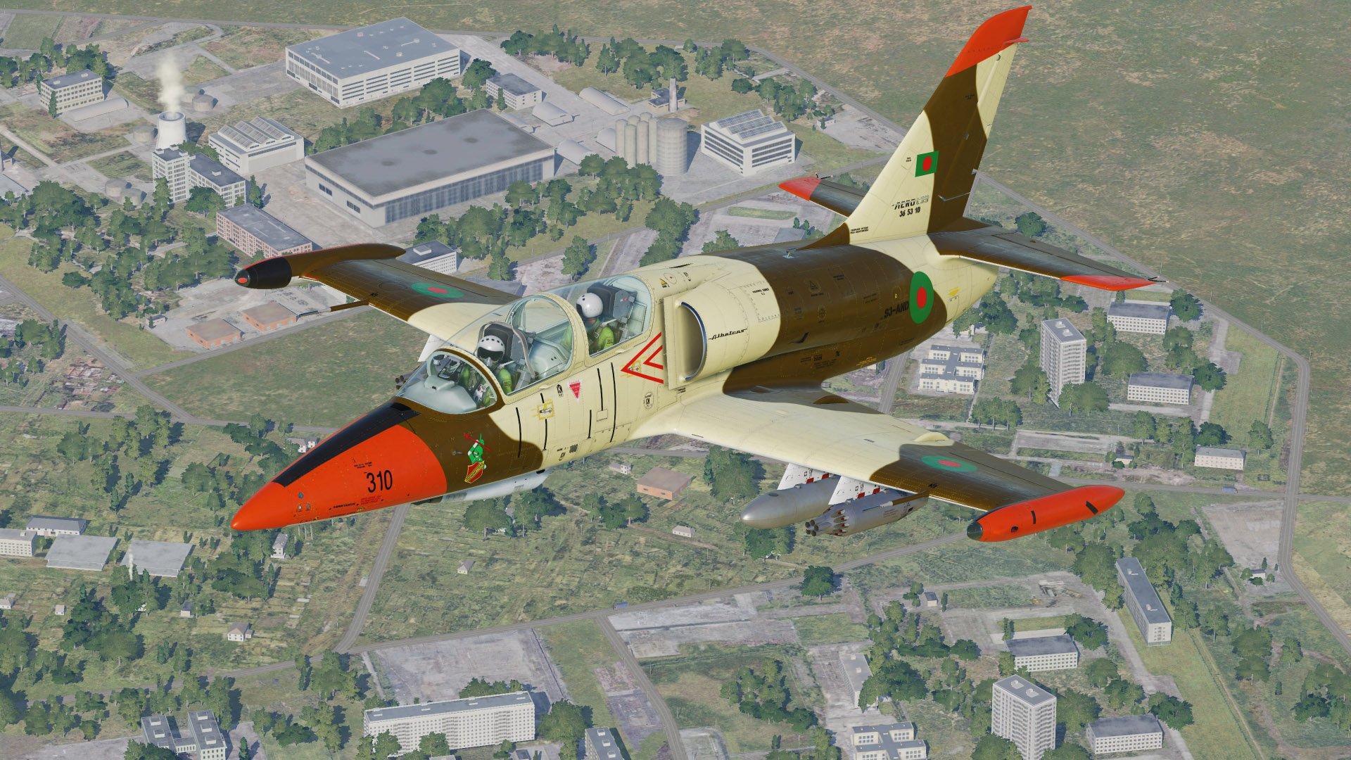L-39ZA Albatros Bangladesh Air Force
