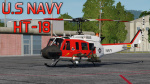 UH-1H Huey U.S Navy Helicopter Training Squadron 18 (HT-18)