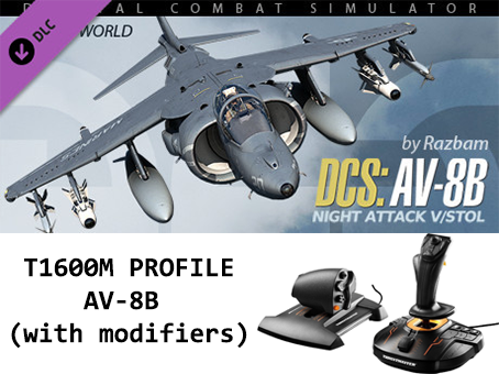 T1600M profile for AV-8B Harrier