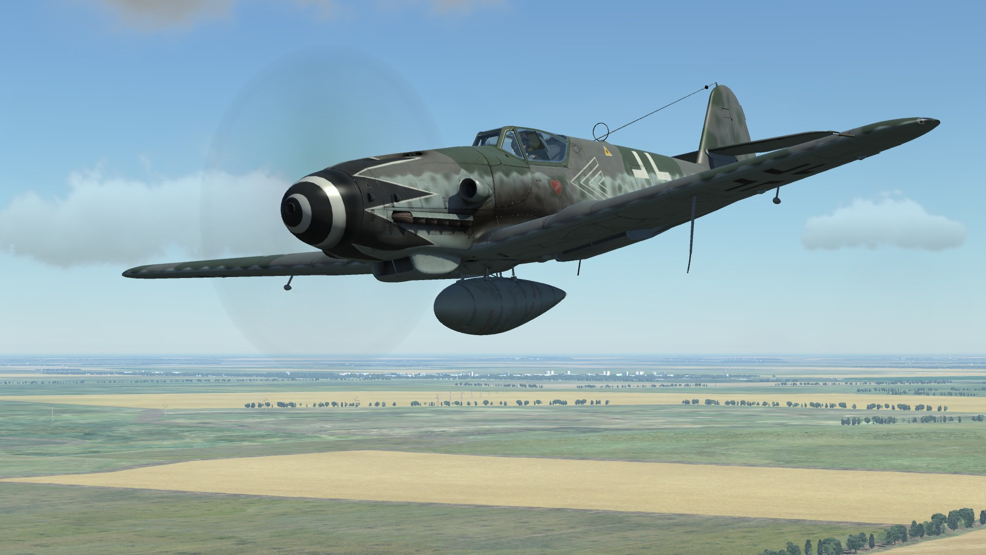Bf 109 G 10 Of Erich Hartmann