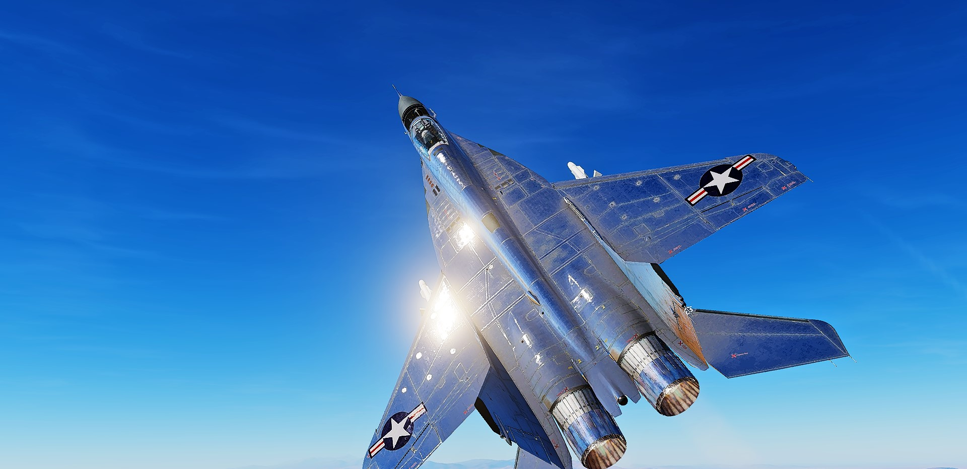 Fictional US Captured MiG-29A w/ Polished metal