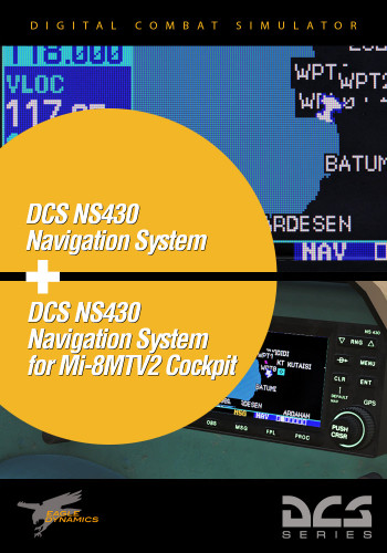 NS 430 for the Mi-8MTV2 and Pop-up Window