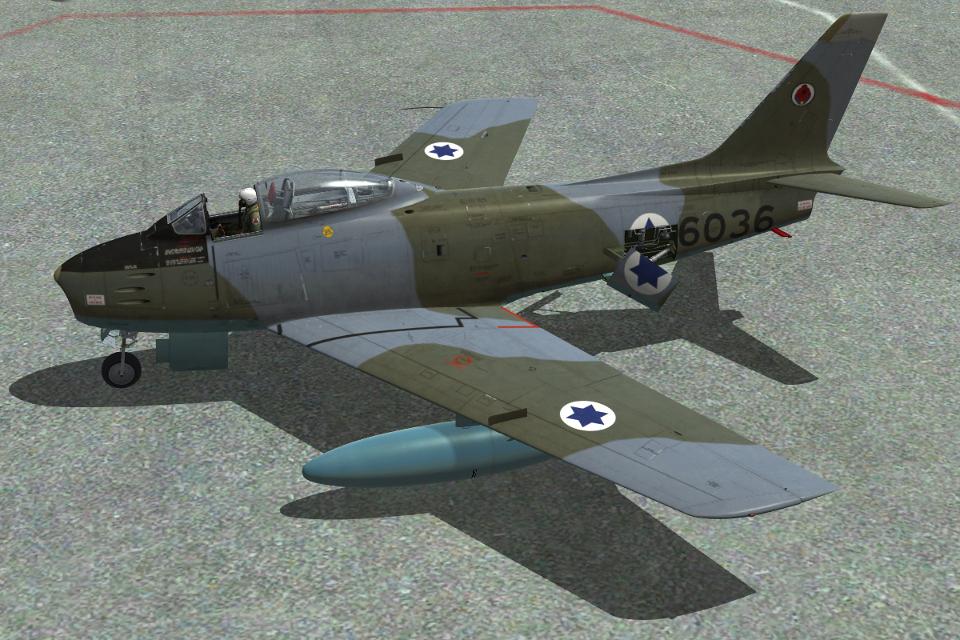 סקין ישראלי עבור F-86