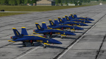 Blue Angels Numbered 1-6