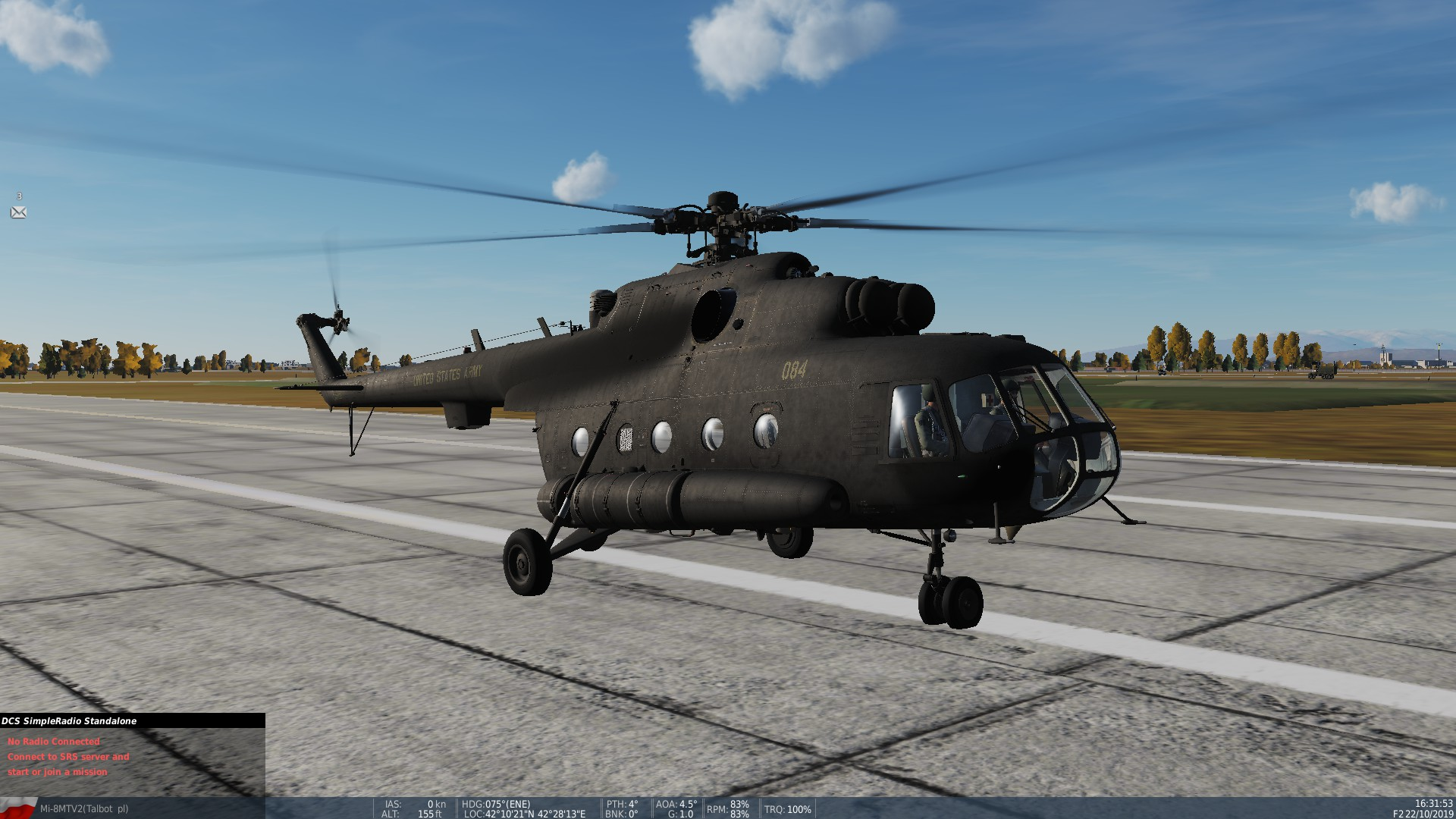 Modified - US Army 160th SOAR Mi-17