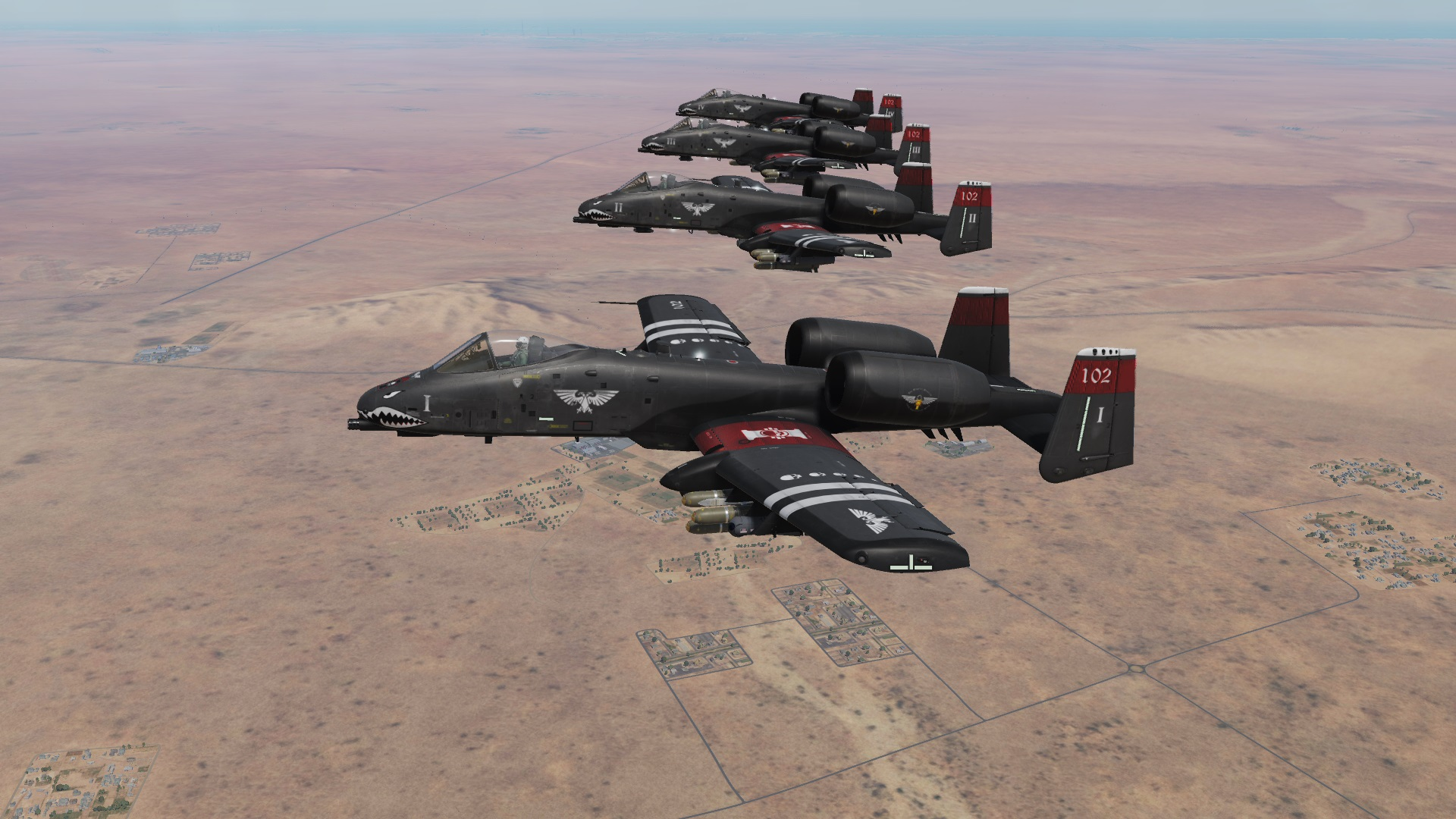 A-10C Fictional 40K Inquisition skin (4 Pack)