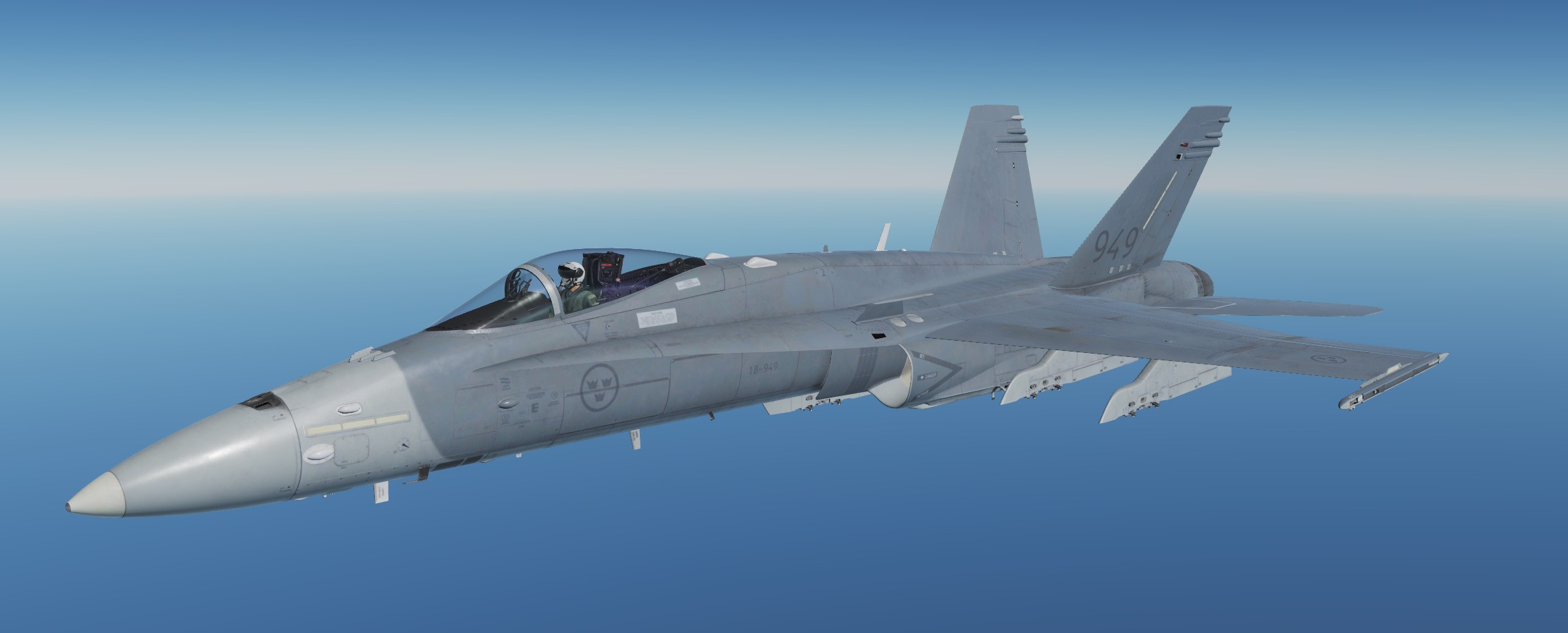 F/A-18 Swedish Airforce 18-949