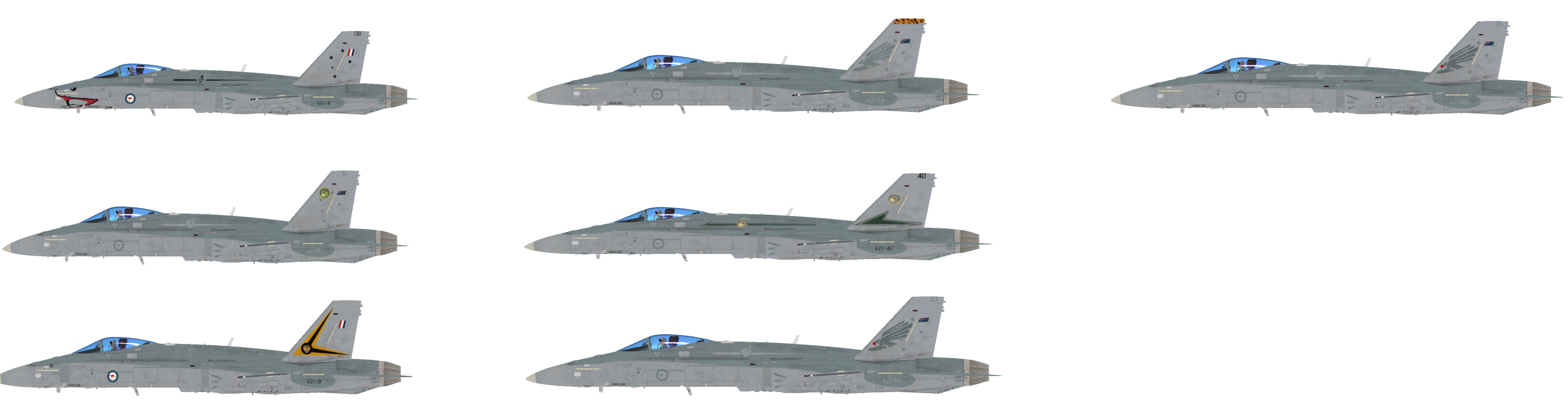 F/A-18C Royal Australian Air Force Pack Hornet Pack