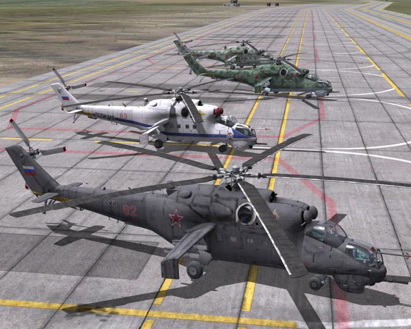 DCSW Mi-24V Retextures