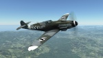 Bulgarian Bf-109, tact. number 7, white