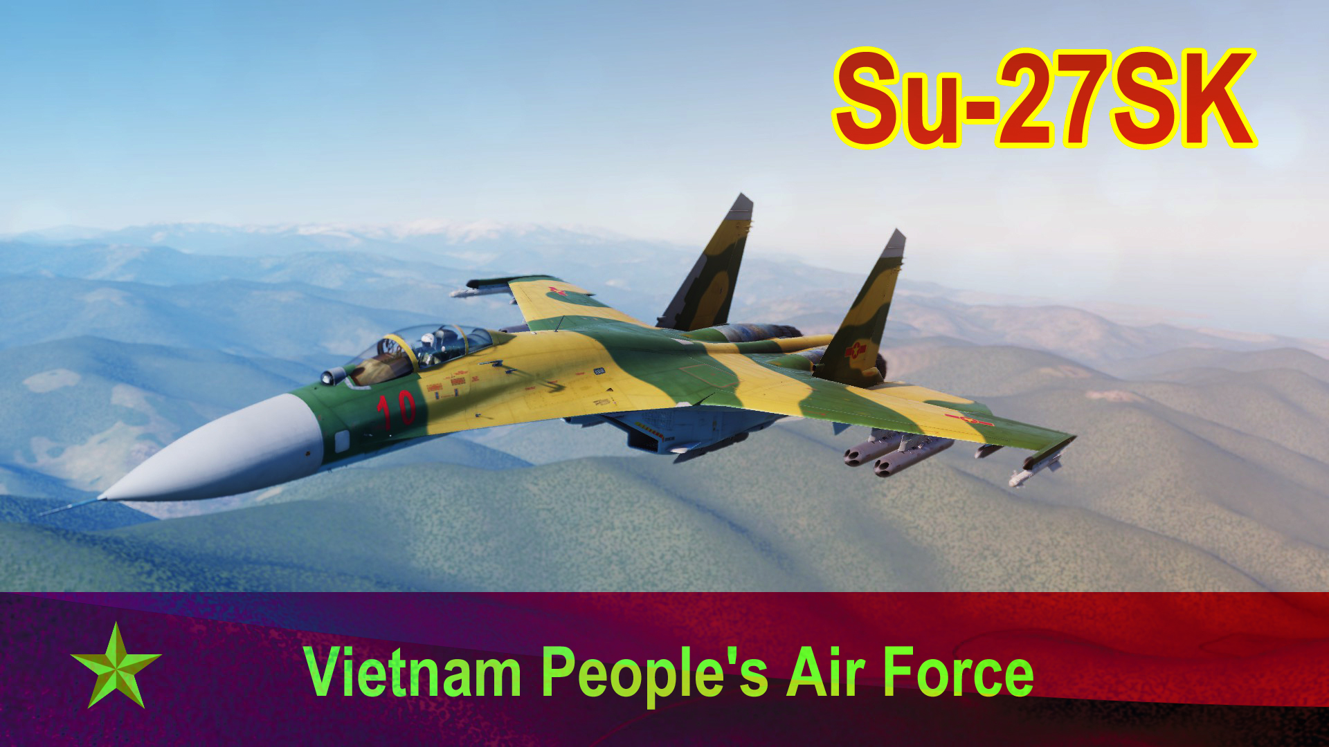 Su-27SK by Vietnam People's Air Force (2019)