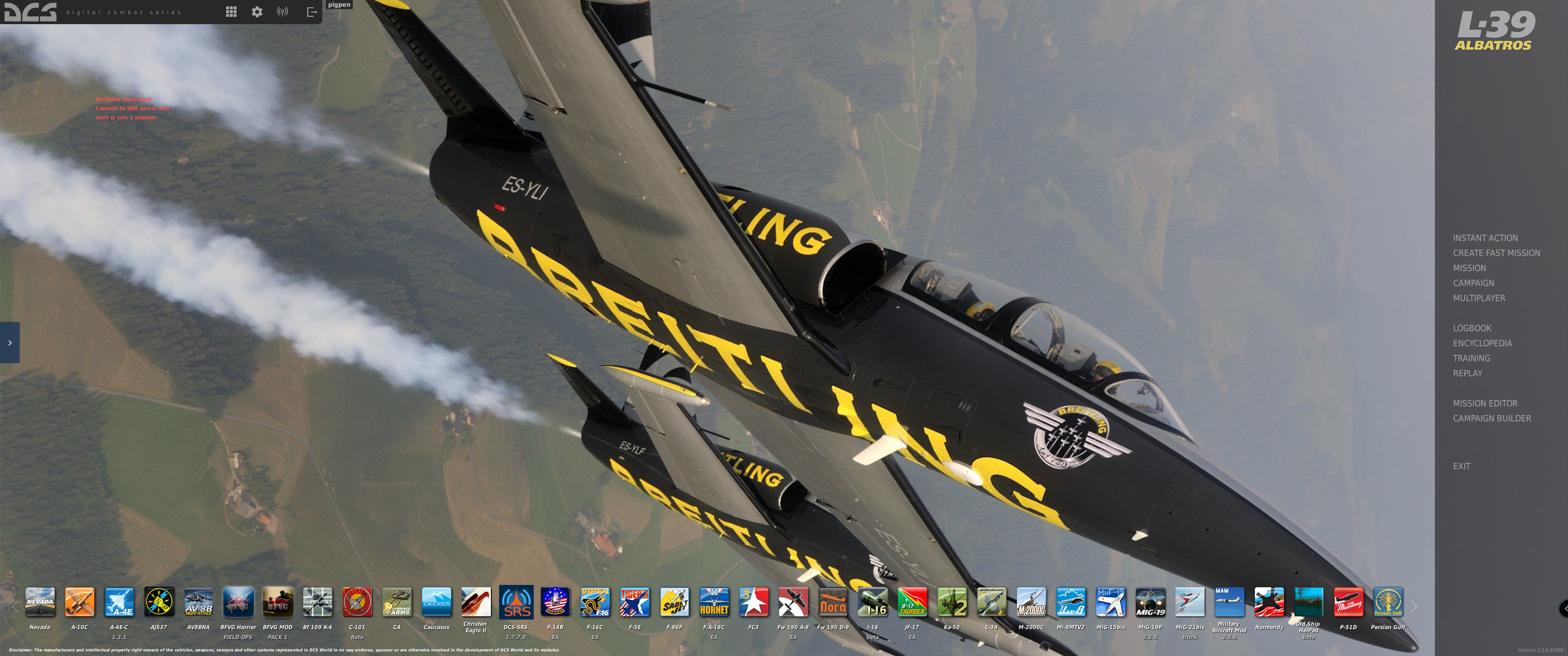 L-39C New wallpaper and theme music