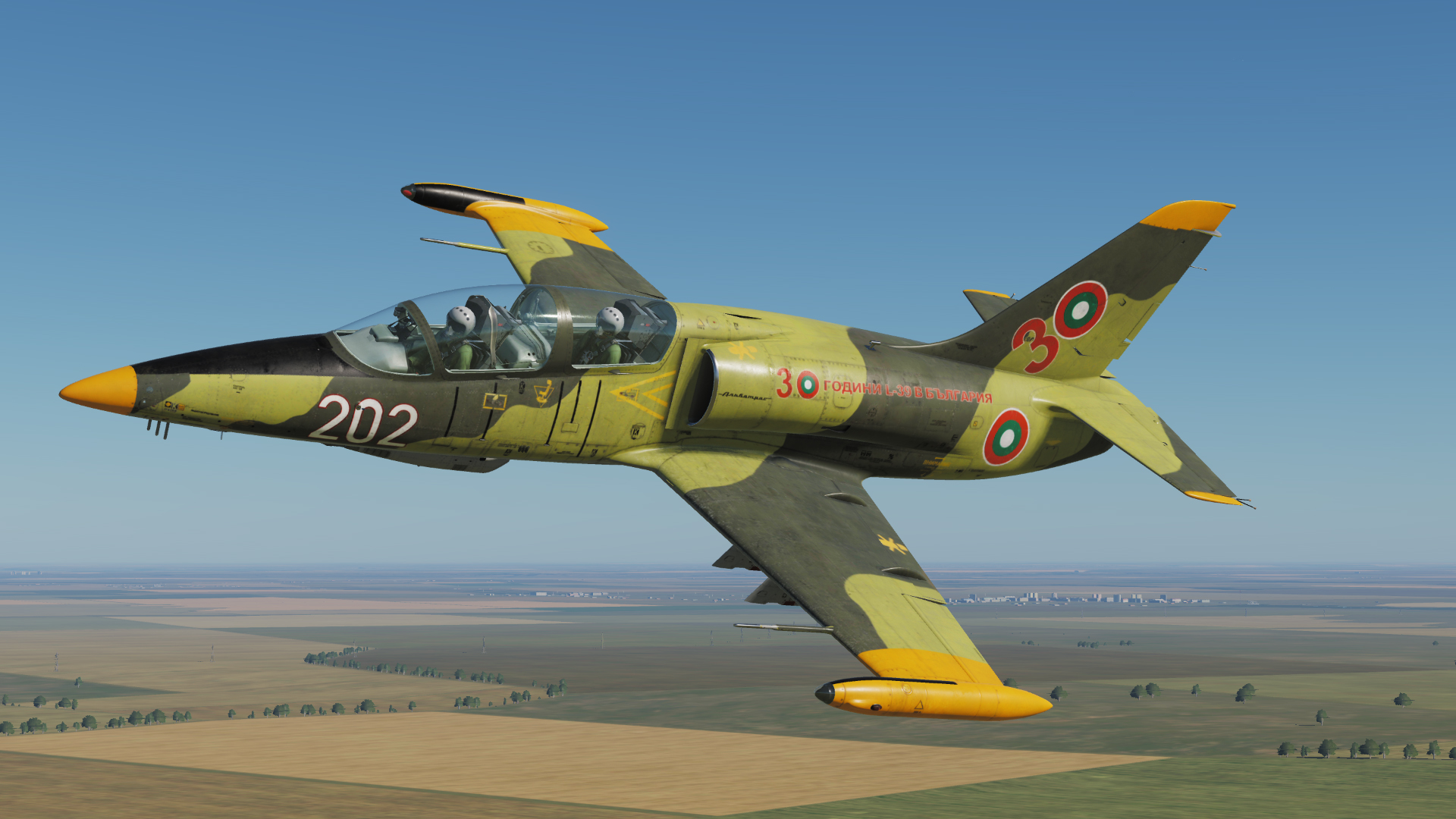 Bulgarian AF 30 years of L-39ZA