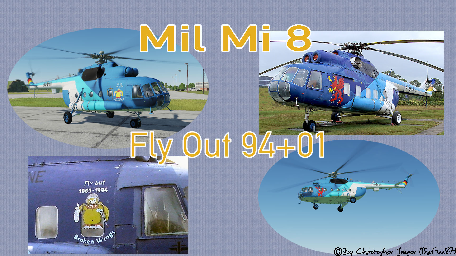 Mil Mi 8 Fly Out 94+01 (Broken Wings)