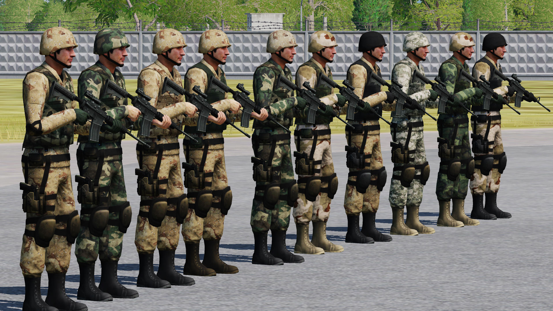US Camo Pack For Georgian Soldier V2