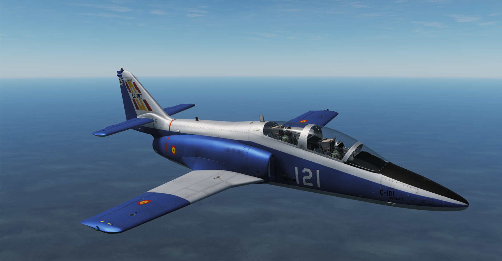 [DEPRECATED] Spanish C-101 XE25-02 Livery (1.1 Update)