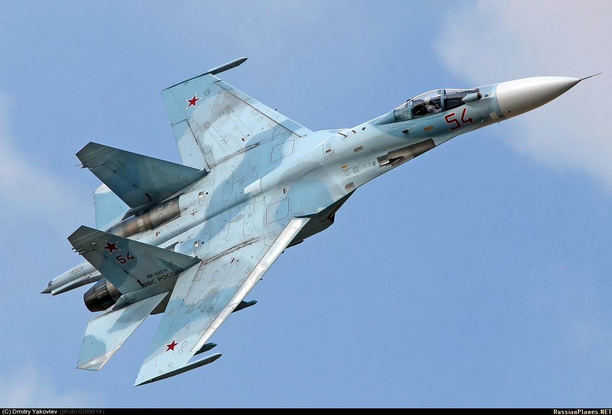 Су-27см бортовой номер 51 краски