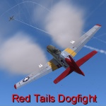 Red Tails Dogfight