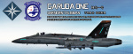 Ace Combat - Republic of Emmeria Navy F-18C Skin Pack(Talisman&Avalanche)