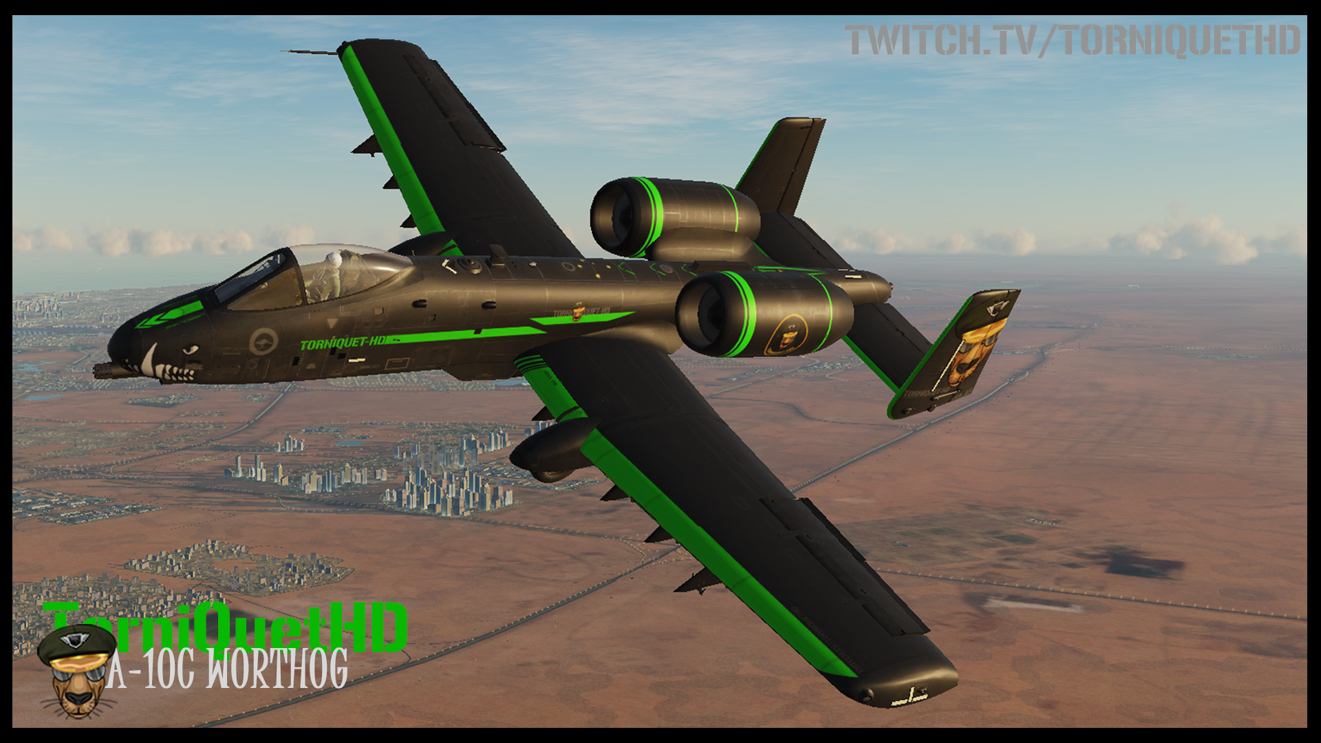 The Official TorniQuet-HD A-10C Skin V 1.2 (updated 18/2/20)