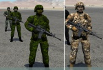 DCS 2.0 Canadian Forces Infantry troops