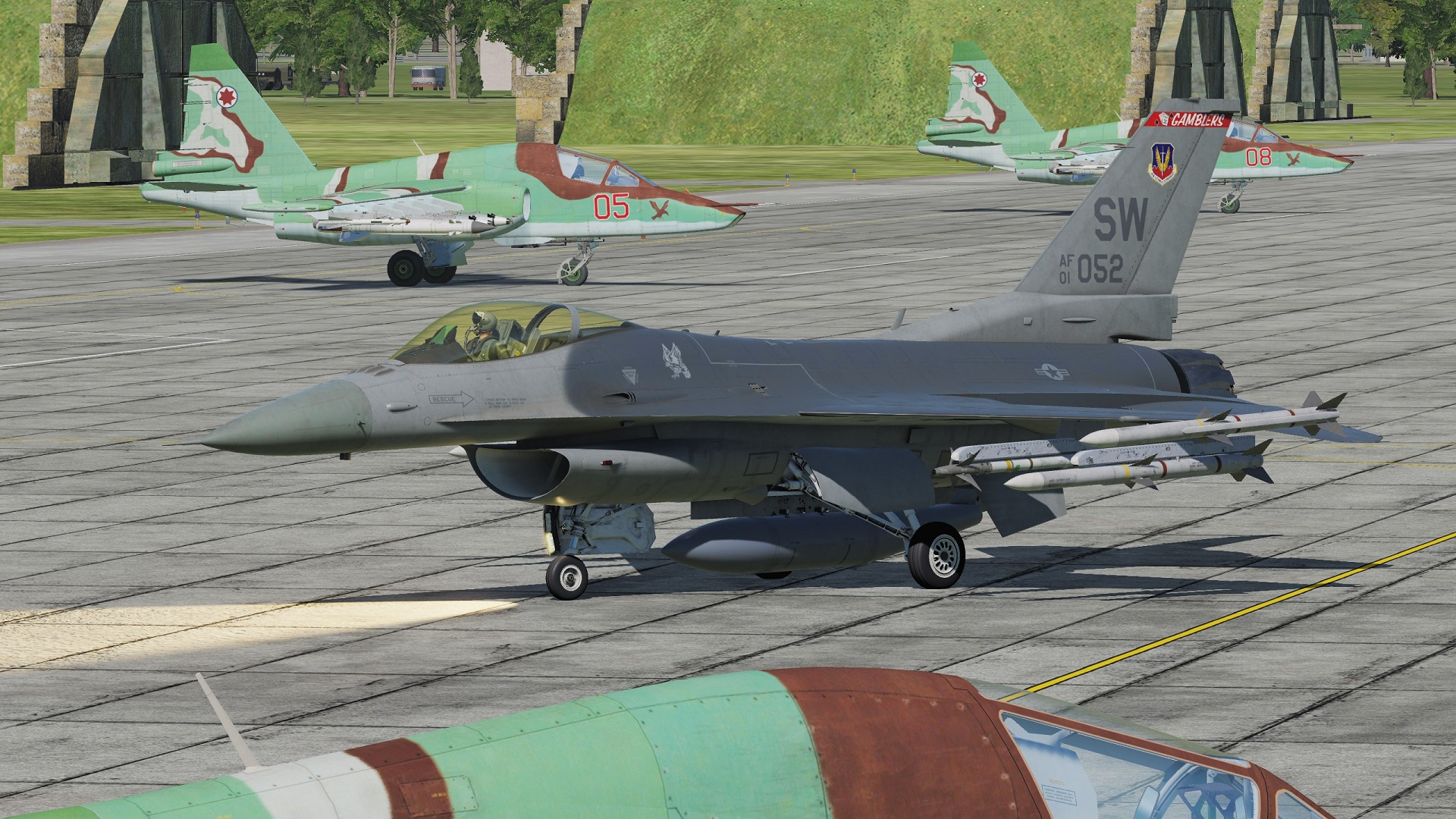 F-16 Strike Escort