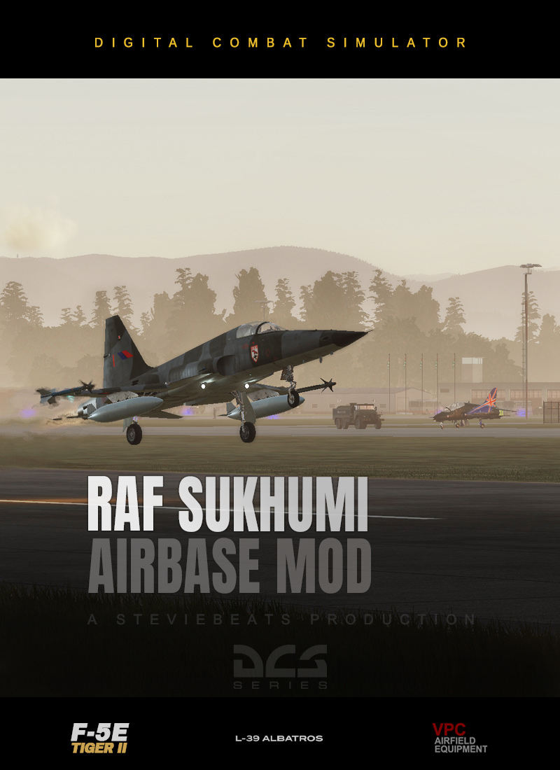 RAF Sukhumi - Low Level Sortie with F-5E (Caucasus)