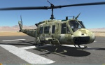 UH-1H Huey - No Markings - Hyperstealth RADEP - Jordan
