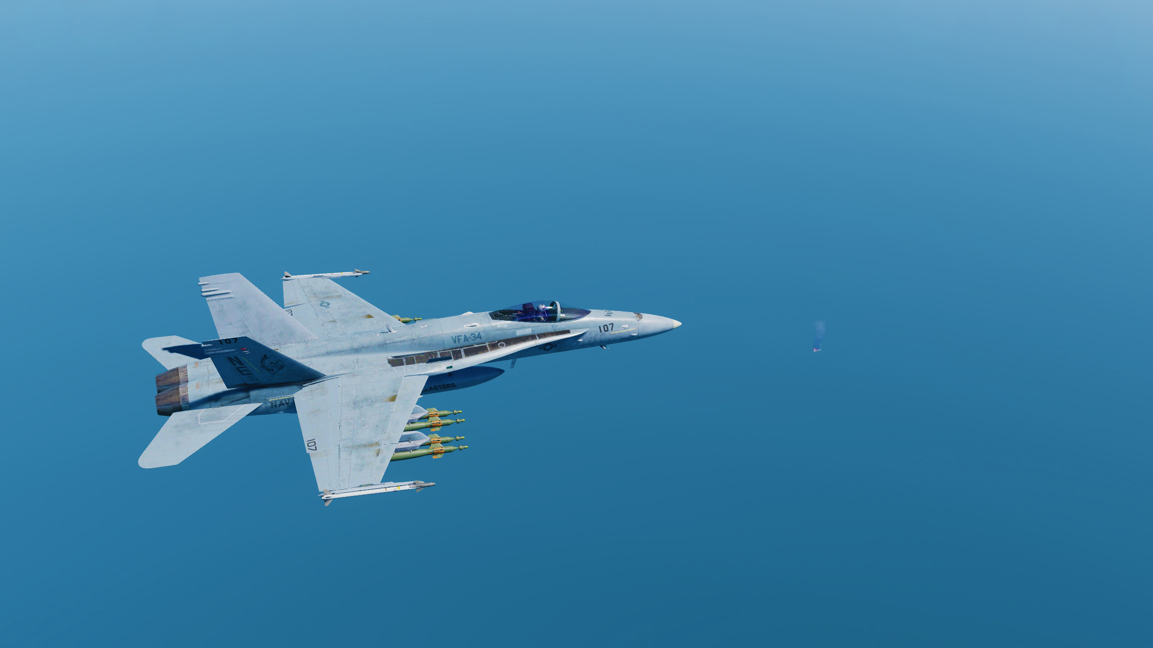 Oil In The Water - F/A-18C Campaign (SP & CO) Cold Start